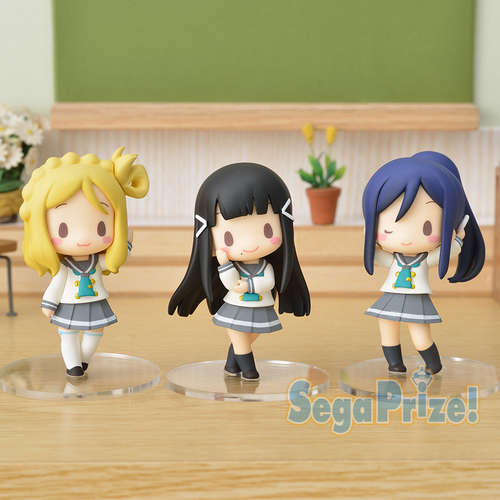 Love Live! Sunshine!! Figure Third-years Chibi Figure ft. Sangatsuyouka