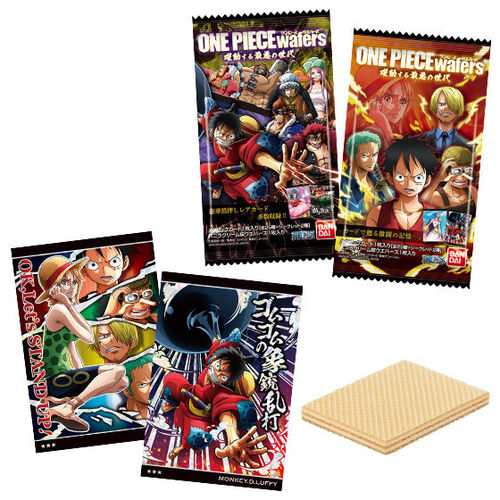 One Piece Wafer -Scrambling Worst Generation- [BLIND BOX]