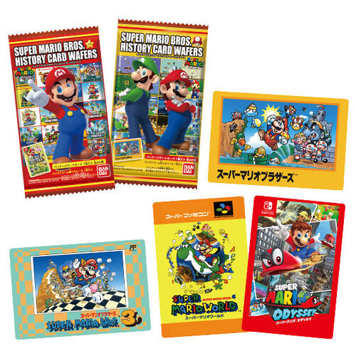 Super Mario Bros. History Card Wafer [BLIND BOX]
