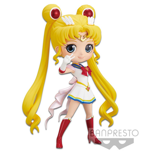 -PRE ORDER- Sailor Moon Eternal Q Posket - Super Sailor Moon (Ver.A)