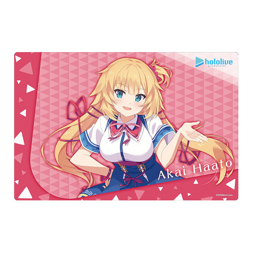 -PRE ORDER- Bushiroad Rubber Mat Collection Vol. 816 Hololive Production Akai Haato Hololive 2nd Fes. Beyond the Stage Ver.