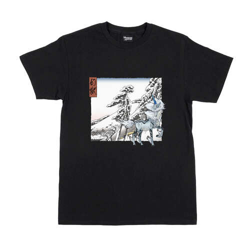 Monster Hunter Ukiyo-e T-Shirt Kirin x Yukibare
