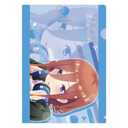 The Quintessential Quintuplets Season 2 Single Clear File Miku