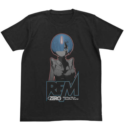 Rem Glow in the Dark T-shirt Black