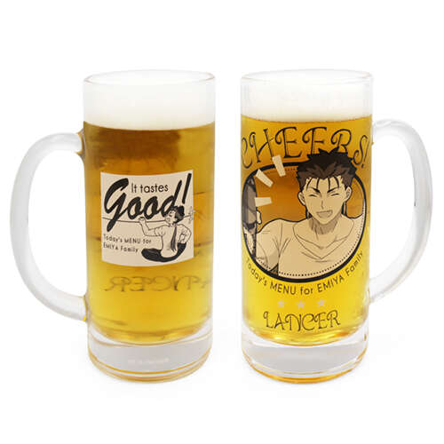 Lancer's CHEERS! Beer Mug
