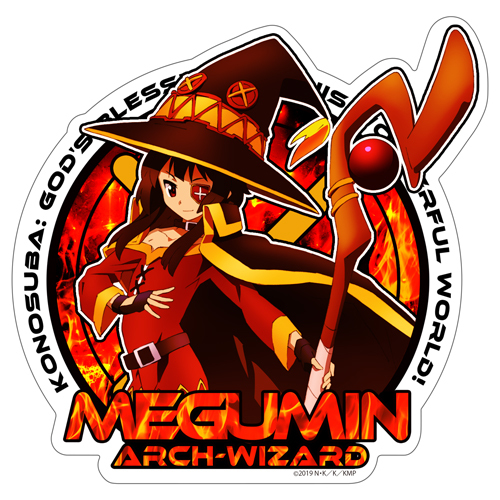 Megumin Waterproof Sticker