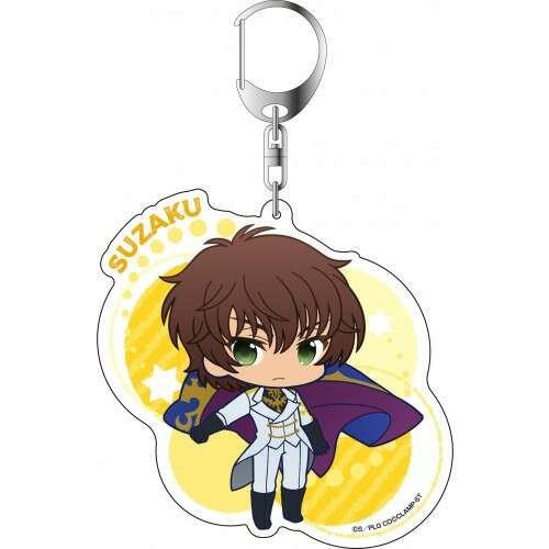 Deka Key Chain PuniChara Suzaku