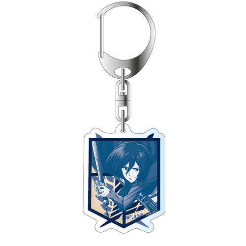 Acrylic Key Chain Select Color Ver. Mikasa