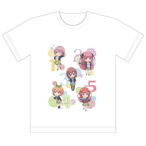 The Quintessential Quintuplets Full Color T-shirt Mini Character