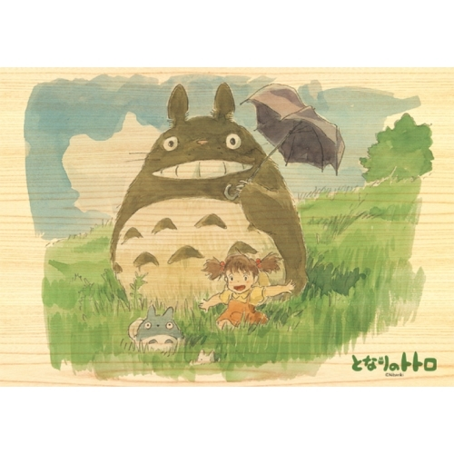 Wooden Jigsaw Puzzle - My Neighbor Totoro: Perfect Day for Walk 208 Piece 208-W202