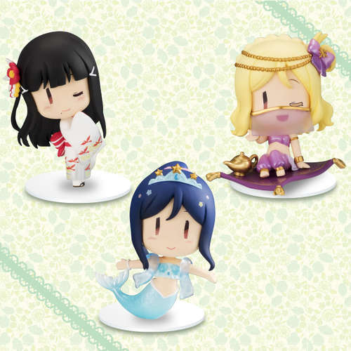 Love Live! Sunshine! Chobirume Petit Figure Third Years