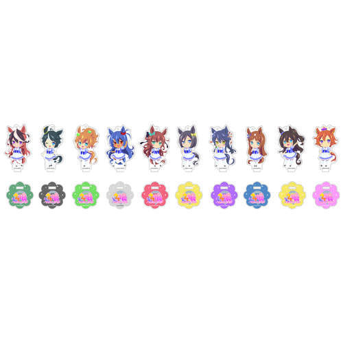 Uma Musume Pretty Derby Acrylic Key Chain with Stand Collection Vol. 2